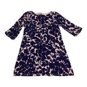Toddler Girl's Crewcuts Blue Floral Tunic Dress Sz